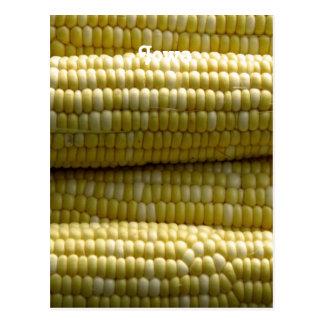 Iowa Corn on the Cob Postcard