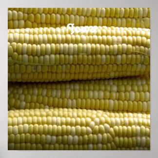 Iowa Corn on the Cob Poster