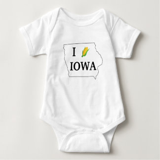 Iowa Corn Shirt- Corny spin off of the I heart NY Baby Bodysuit