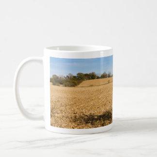 Iowa Cornfield Panorama Coffee Mug