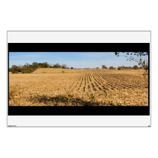 Iowa Cornfield Panorama Photo Wall Sticker