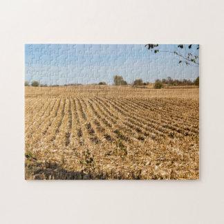 Iowa Cornfield Panorama Jigsaw Puzzles