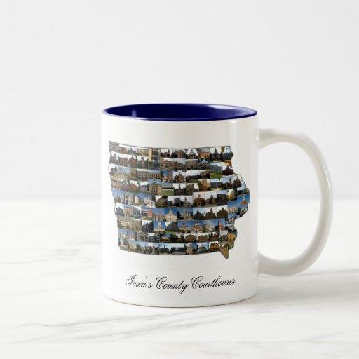 Iowa Courthouse Project Mug
