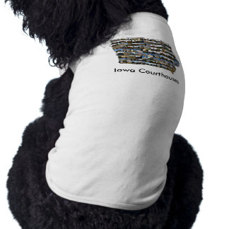 Iowa Courthouses Pet Shirt