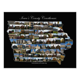 Iowa Courthouses Project Poster