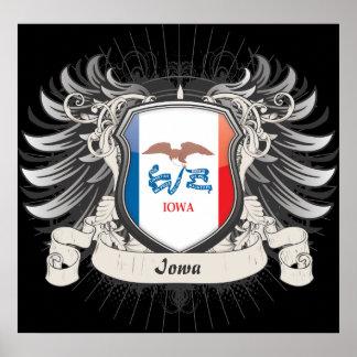 Iowa Crest Poster