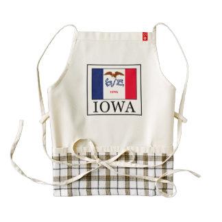 Iowa Delantal Zazzle HEART