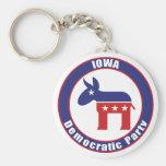 Iowa Democratic Party Key Chain