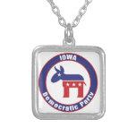 Iowa Democratic Party Pendant