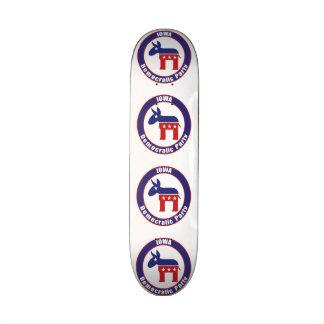 Iowa Democratic Party Skateboard Deck