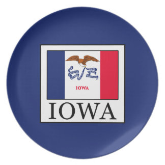 Iowa Dinner Plate
