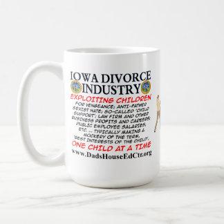 Iowa Divorce Industry. Mugs