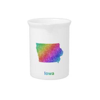 Iowa Drink Pitcher