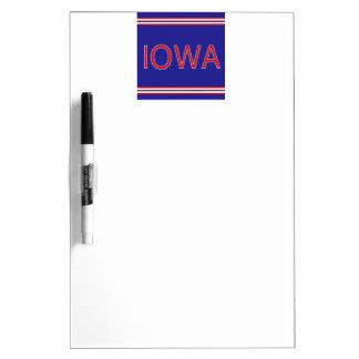 Iowa Dry Erase Board with Pen