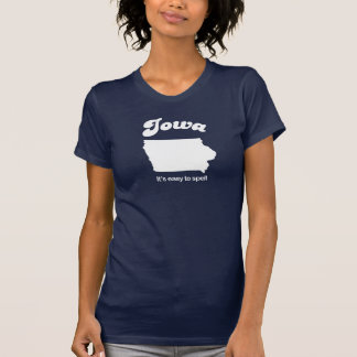 Iowa - Easy to spell T-shirt