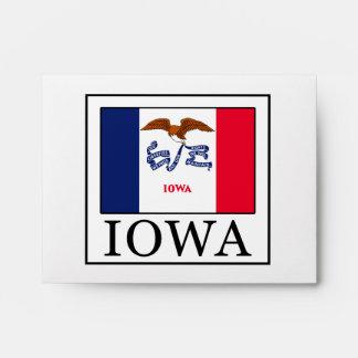 Iowa Envelope