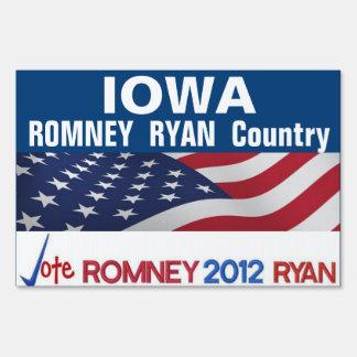 IOWA es muestra del país de Romney Ryan