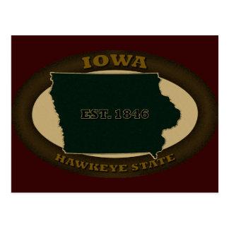 Iowa Est. 1846 Postales