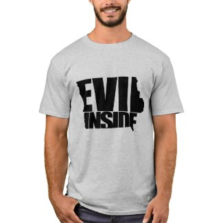 Iowa - Evil Inside T-Shirt