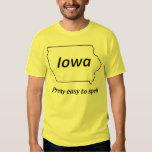 Iowa - fácil bonito deletrear camisas