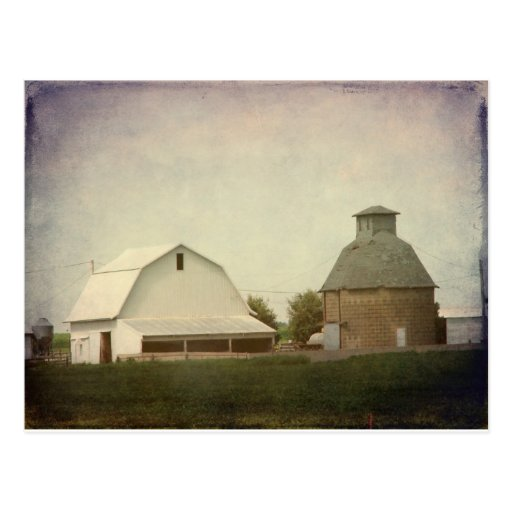 Iowa Farming Postcard