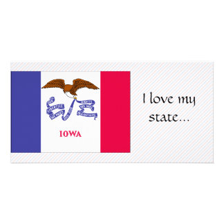 Iowa Flag Card