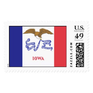 IOWA Flag Stamp