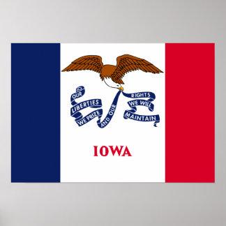 Iowa Flag Posters