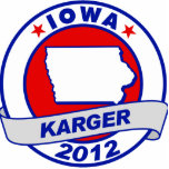 Iowa Fred Karger Cut Outs