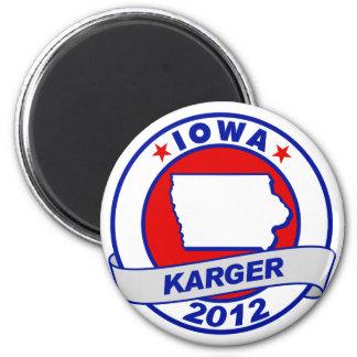Iowa Fred Karger Magnet