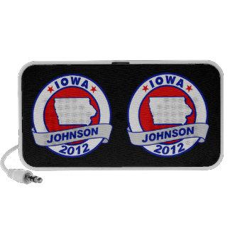 Iowa Gary Johnson Mini Speaker