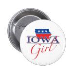 Iowa Girl Button
