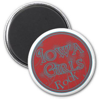 Iowa Girls Rock! Fridge Magnets