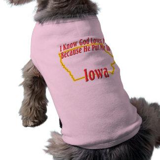 Iowa - God Loves Me T-Shirt
