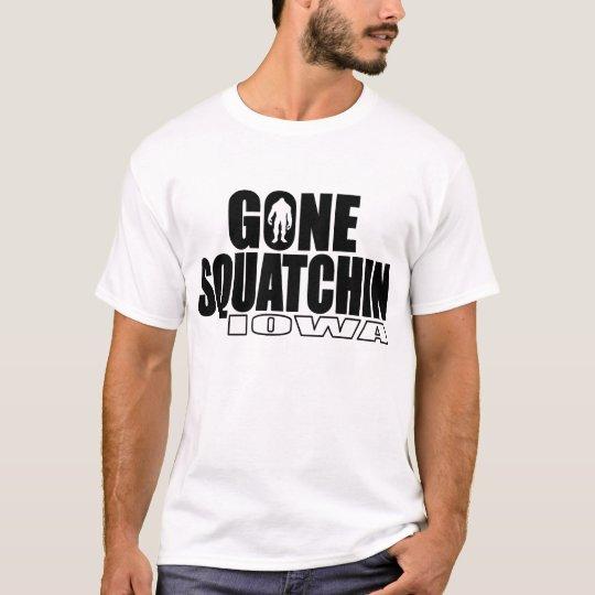 IOWA Gone Squatchin - Original Bobo T-Shirt