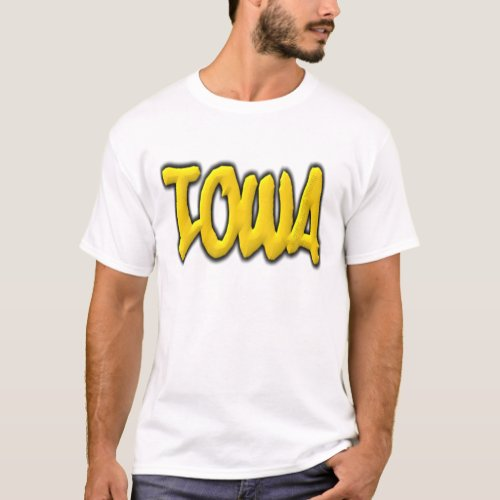 Iowa Graffiti T_Shirt