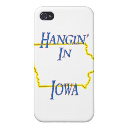 Iowa - Hangin iPhone 4/4S Carcasa