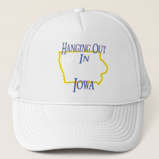 Iowa - Hanging Out Trucker Hat