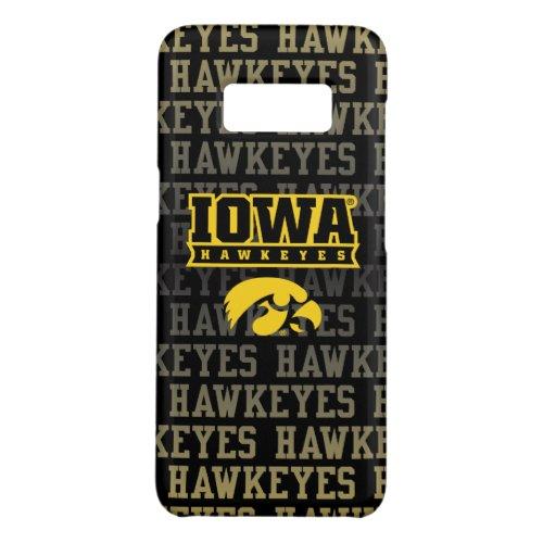 Iowa Hawkeyes | Hawkeye Pattern Phone Case