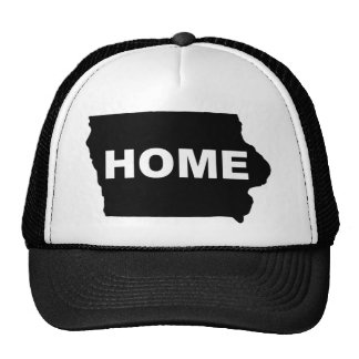Iowa Home Away From State Ball Cap Hat