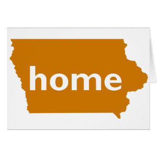 Iowa Home Greeting Card
