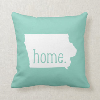 Iowa Home State Throw Pillow