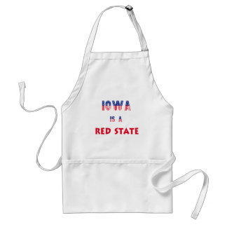 Iowa is a Red State Apron