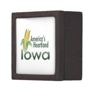IOWA JEWELRY BOX