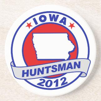 Iowa Jon Huntsman Drink Coaster