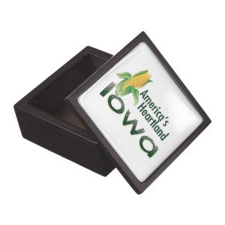 IOWA KEEPSAKE BOX