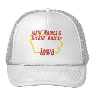 Iowa - Kickin' Butt Trucker Hat