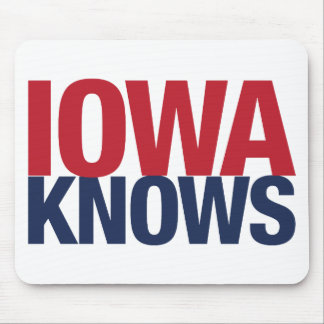 Iowa Knows Mouse Pad
