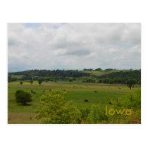 Iowa Landscape Postcard