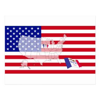 Iowa, los E.E.U.U. Tarjetas Postales